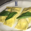 Spinach and Ricotta Cheese Tortelli