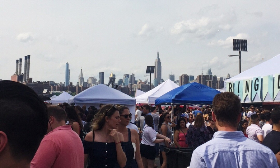 Saturdays are for Smorgasburg