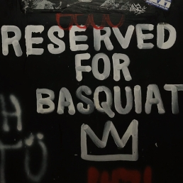 Reserved for Basquiat