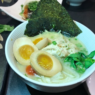 Ramen Bowl with Soy-Marinated Egg