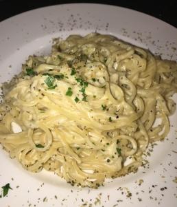 Linguini with Truffle Sauce